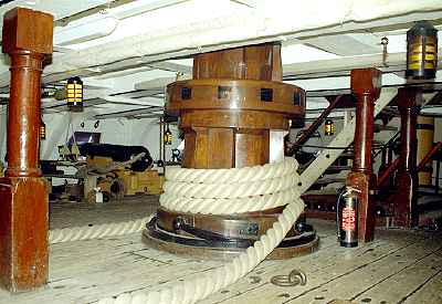 HMS Victory: Lower Capstan